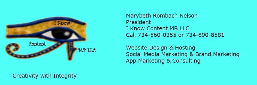 I Know Content MB LLC - *Social Media Marketing * Brand Marketing * Website Design & Hosting